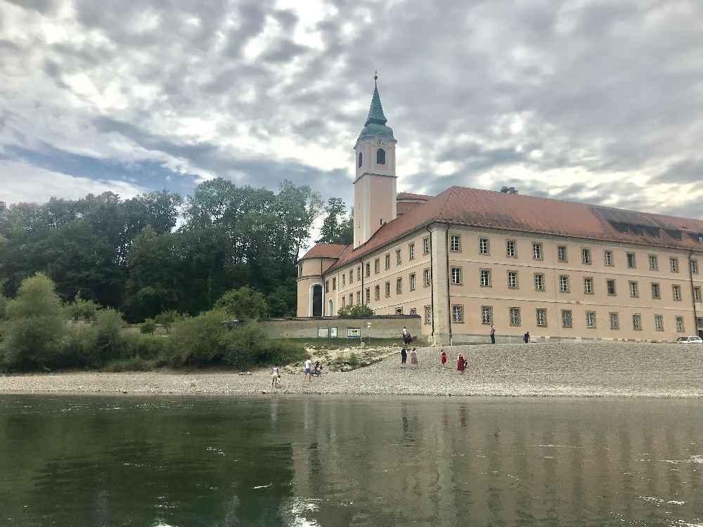 Das Kloster Weltenburg in Bayern