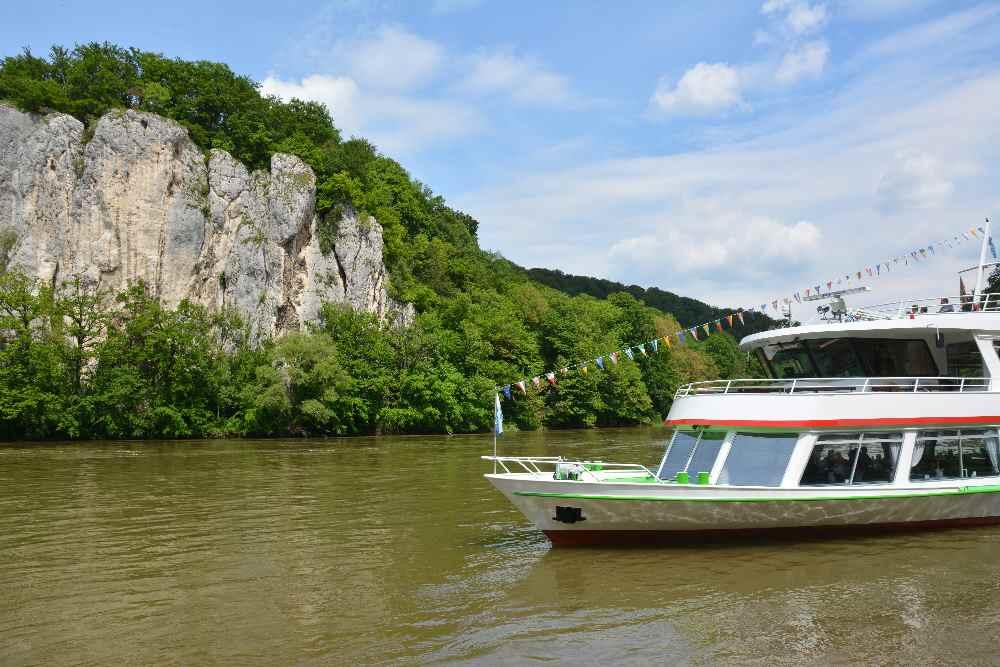 Donaudurchbruch per Schiff entdecken