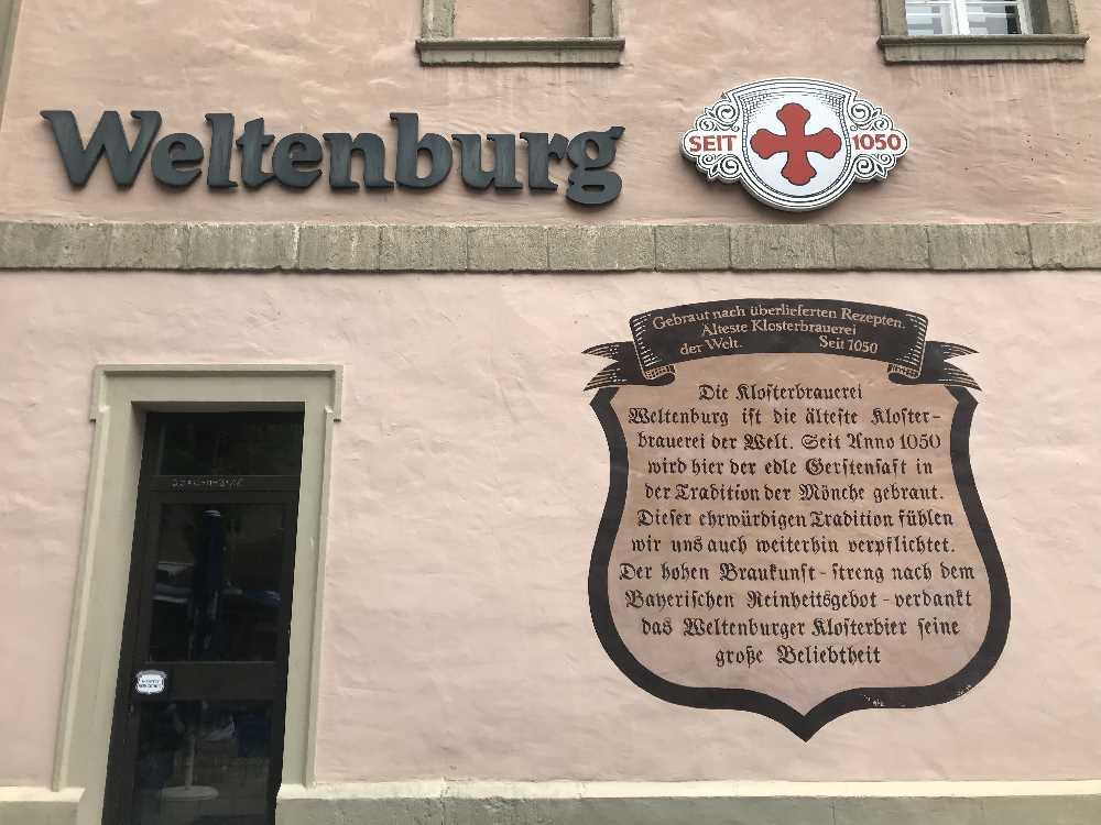 Kloster Weltenburg Bier - wird hier gebraut